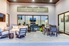 Architectural House Design - Contemporary Exterior - Outdoor Living Plan #935-14