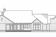 Farmhouse Exterior - Rear Elevation Plan #1074-9