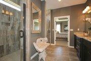 Mediterranean Style House Plan - 3 Beds 2 Baths 1720 Sq/Ft Plan #20-2174 Interior - Master Bathroom