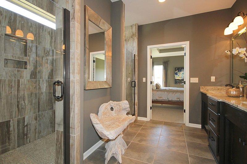 Mediterranean Interior - Master Bathroom Plan #20-2174 - Houseplans.com