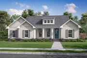 Farmhouse Style House Plan - 3 Beds 2 Baths 1697 Sq/Ft Plan #430-230 Exterior - Front Elevation