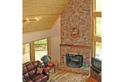 Log Style House Plan - 3 Beds 2 Baths 1601 Sq/Ft Plan #456-3 Photo