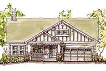 Home Plan - Craftsman Exterior - Front Elevation Plan #20-126