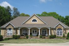 Country Exterior - Front Elevation Plan #437-42