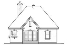 House Design - Traditional Exterior - Rear Elevation Plan #23-474