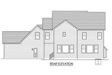 House Plan Design - Traditional Exterior - Rear Elevation Plan #1010-226