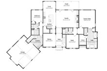 Traditional Floor Plan - Main Floor Plan Plan #1071-20