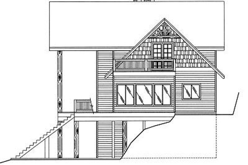 Exterior - Other Elevation Plan #117-459 - Houseplans.com