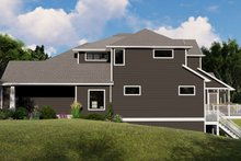 Dream House Plan - Cottage Exterior - Covered Porch Plan #1064-107