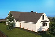 Farmhouse Style House Plan - 3 Beds 2.5 Baths 3201 Sq/Ft Plan #1070-4 Exterior - Other Elevation