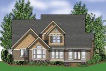 Craftsman Exterior - Rear Elevation Plan #48-262