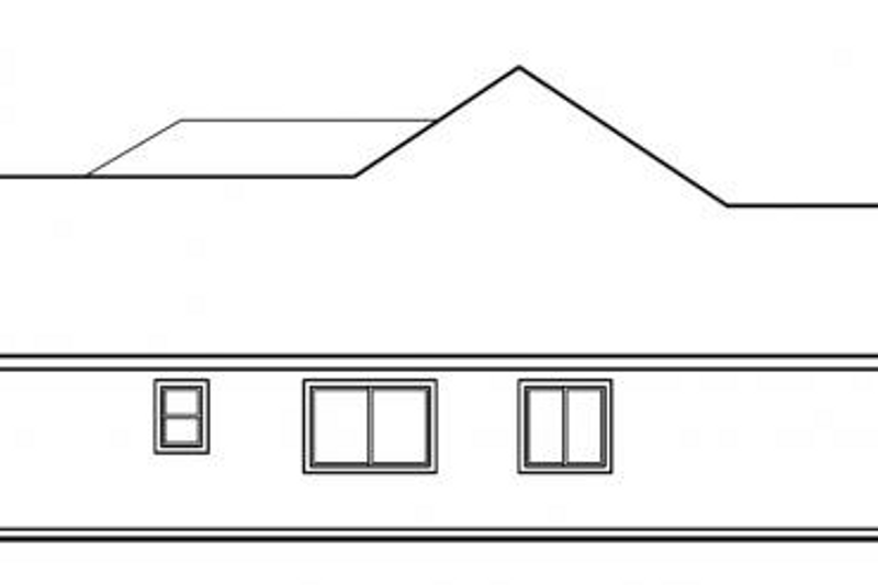 Exterior - Other Elevation Plan #124-477 - Houseplans.com