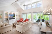 Cottage Style House Plan - 4 Beds 4 Baths 2925 Sq/Ft Plan #938-107 Interior - Family Room