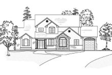 Home Plan - Traditional Exterior - Other Elevation Plan #5-211