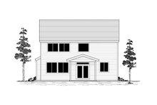 Craftsman Exterior - Rear Elevation Plan #53-651