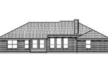 Dream House Plan - Traditional Exterior - Rear Elevation Plan #84-359