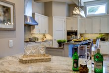 Mediterranean Interior - Kitchen Plan #930-480