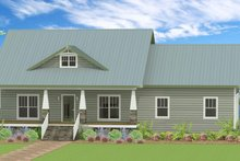 Country Exterior - Front Elevation Plan #44-197