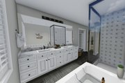 Traditional Style House Plan - 3 Beds 2.5 Baths 2176 Sq/Ft Plan #1060-37 Interior - Master Bathroom