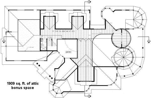 Floor Plan - Other Floor Plan Plan #60-482