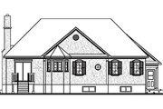 European Style House Plan - 2 Beds 1 Baths 1572 Sq/Ft Plan #23-130 Exterior - Rear Elevation
