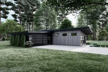 House Blueprint - Contemporary Exterior - Other Elevation Plan #923-194