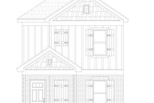 House Design - Traditional Exterior - Front Elevation Plan #932-399