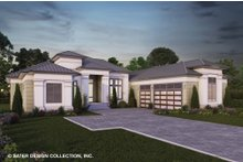 Dream House Plan - Contemporary Exterior - Front Elevation Plan #930-520