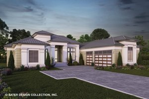 Contemporary Exterior - Front Elevation Plan #930-520