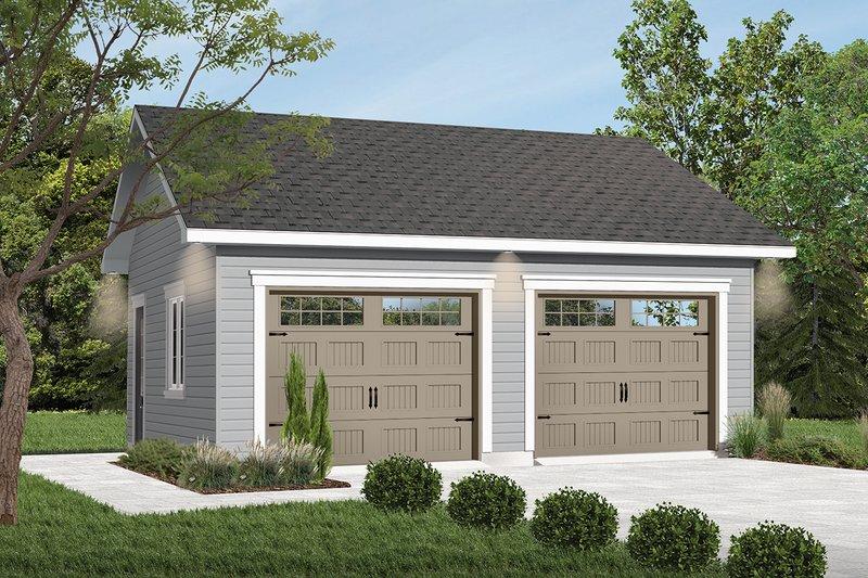 Dream House Plan - Craftsman Exterior - Front Elevation Plan #23-772