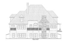 Dream House Plan - Traditional Exterior - Rear Elevation Plan #437-56