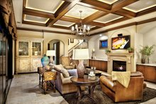 Home Plan - Mediterranean Interior - Family Room Plan #930-21