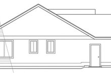 Home Plan - Traditional Exterior - Other Elevation Plan #124-291