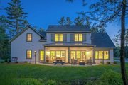 Craftsman Style House Plan - 4 Beds 2.5 Baths 2360 Sq/Ft Plan #901-138 Exterior - Rear Elevation