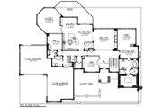 Ranch Style House Plan - 2 Beds 2.5 Baths 4373 Sq/Ft Plan #70-1293 Floor Plan - Main Floor Plan