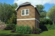 Craftsman Style House Plan - 1 Beds 1 Baths 628 Sq/Ft Plan #48-935