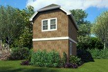 House Plan Design - Craftsman Exterior - Rear Elevation Plan #48-935