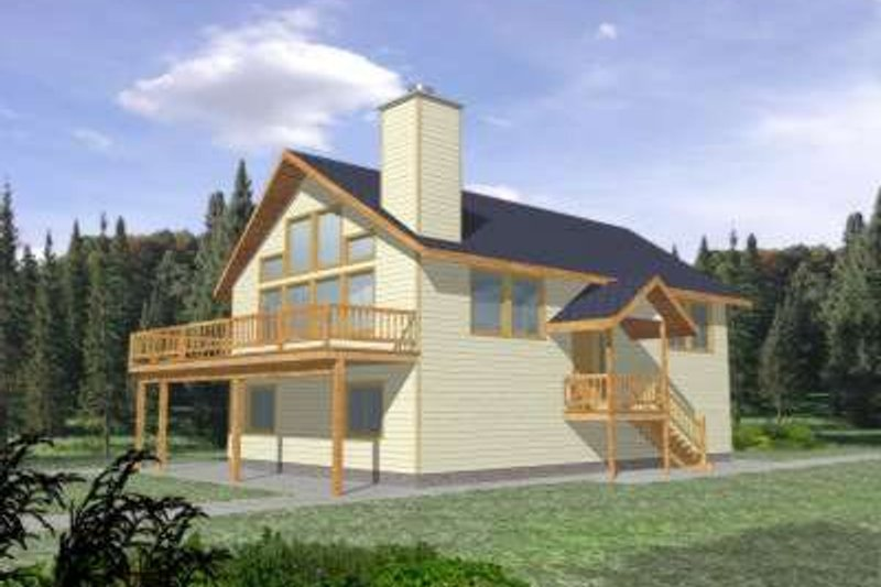 Traditional Exterior - Front Elevation Plan #117-327