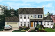 Home Plan - Traditional Exterior - Front Elevation Plan #3-274