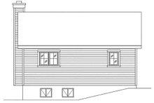 House Plan Design - Cottage Exterior - Rear Elevation Plan #22-595