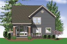 Traditional Exterior - Rear Elevation Plan #48-113