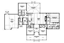 Ranch Floor Plan - Main Floor Plan Plan #1058-173