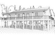Beach Style House Plan - 3 Beds 2 Baths 1800 Sq/Ft Plan #63-364