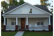 Craftsman Exterior - Front Elevation Plan #63-273