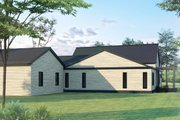 Ranch Style House Plan - 3 Beds 3 Baths 1631 Sq/Ft Plan #1075-1 Exterior - Other Elevation