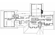 Country Style House Plan - 3 Beds 2 Baths 2380 Sq/Ft Plan #137-131 Floor Plan - Upper Floor Plan