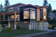 Contemporary Style House Plan - 5 Beds 5.5 Baths 5185 Sq/Ft Plan #1066-34