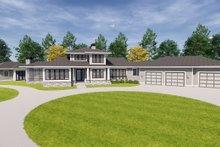 Craftsman Exterior - Front Elevation Plan #928-335