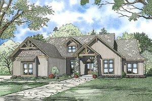 Craftsman Exterior - Front Elevation Plan #17-2375