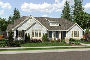 Craftsman Exterior - Front Elevation Plan #46-527